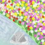 ダウンロード無料のフリーBGM:川の向こうのお花畑